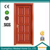 PVC/UPVC laminou a porta para o projeto do hotel com projeto personalizado (WDP3061)