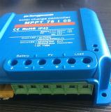가로등 시스템을%s 세륨 RoHS 12V 24V 파란 MPPT 태양 관제사 10A 15A