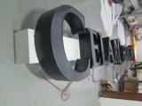 Lettera dell'acciaio inossidabile di Lit del fronte del LED e segno acrilico della lettera