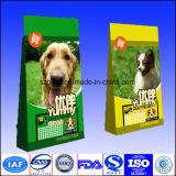 Hundeverpacken- der Lebensmittelbeutel mit Stützblech