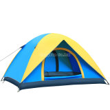 3-4 tente de personne, camp de tente de loisirs de lac double Layer