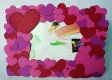 Plastique de haute qualité Cadre cadeau promotionnel 3D PVC photo (PF-016)