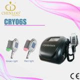 Máquina gorda de Cryolipolysis del ultrasonido del martillo del vacío que adelgaza del helada frío del masaje