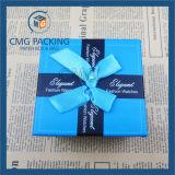 반점 인쇄를 가진 보석 서류상 선물 종이상자 (CMG-PJB-020)