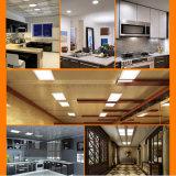 el panel ahuecado LED cuadrado de la luz de techo 24W abajo enciende iluminaciones caseras de interior de la lámpara del bulbo