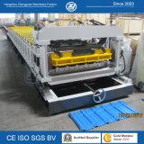 Tuiles en aluminium d'étape formant la machine