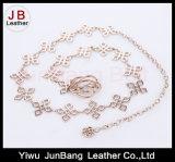 Cinghia Chain con metallo e turchese per i vestiti