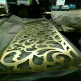Laser decorativo Cut Outdoor Metal Screen Exterior Wall Panel Made di Stainless Steel in Cina