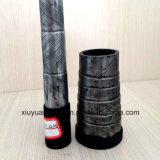 (EN856-4SP) Boyau en caoutchouc hydraulique flexible de pétrole à haute pression spiralé