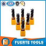4つのフルートの木製の処理のための平らな端製造所のカッターのツール