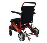 Fáceis ultra claros carreg a cadeira de rodas de dobramento da energia eléctrica para enfermos