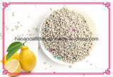Zitrone-Geruch Clumpling Bentonit-Katze-Sänfte hinzufügen