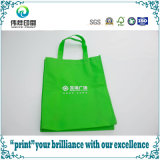 Ambiente-Friendly verde Shopping Non Woven Bag con Handles