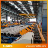 管の製造の生産ライン及び管のスプールの製造機械