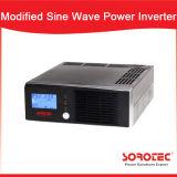 Lcd-Bildschirmanzeige-kleiner Hauptgebrauch geänderter Sinus-Welle Wechselstrom zum Spannungs-Inverter 500-2000va