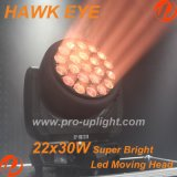 Più luminoso Bee Eye 22PCS 30W Hawk Eye LED Moving Head