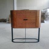 現代デザイン木のサイドボード