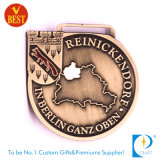Оптовое изготовленный на заказ античное латунное медаль пожалования сувенира