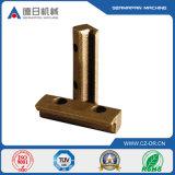 Carcaça do bronze da fundição de aço da placa de cobre do OEM