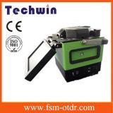 Máquina del empalme de Techwin similar a la encoladora de la fusión de Fujikura Fsm-60s