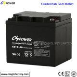 Batería profunda 12V200ah del AGM del ciclo del fabricante con 3 años de garantía