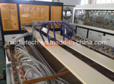 Protuberancia del panel de pared del techo del perfil de la ventana del PVC de WPC/(estirador) y máquina de la producción