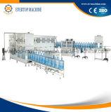 5 galones que beben la máquina de rellenar del agua mineral