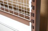 Crémaillère en acier Yd-S009 d'aménagement d'étalage de gondole de treillis métallique de mur de supermarché