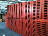 Paletes de plástico rackable 1200 * 1000 paletes de derramamento de plástico resistente