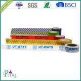 Cinta impresa insignia colorida del embalaje de OPP para el lacre del cartón