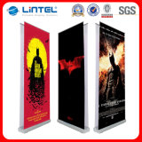 Sided doble Aluminum Display Stand con Chrome Endplate (LT-0T)