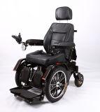 يشبع عمل مسند ظهر قابل للتعديل كهربائيّة يقف قوة كرسيّ ذو عجلات