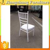 スタックする結婚式によってChiavariの使用される白い椅子(JC - ZJ02)を