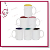 Photo Printingの15oz Plain White Sublimation Inner Color Mug