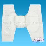Couche-culotte adulte remplaçable avec le papier de 4 desserrages