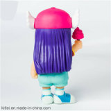 Chiffre mignon jouet en plastique de fille de Hotsale de cadeau d'anniversaire