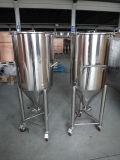 Fermentadora cónica de la elaboración de la cerveza casera caliente de la exportación de los E.E.U.U.