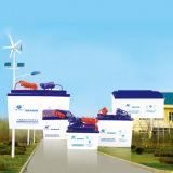 batterie profonde de gel d'énergie d'énergie solaire de cycle de 12V 65ah AGM