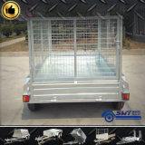 Rimorchio galvanizzato dell'autocarro con cassone ribaltabile del trattore del rimorchio della gabbia (SWT-TT85)