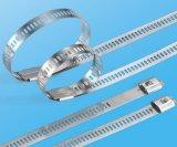 Serre-câble simple d'acier inoxydable d'échelle de bavure