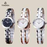 Het Ceramische Horloge van het Kwarts van Japan van de Prijs van de fabriek met Beweging 71071 van Japan