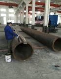 Tubo soldado del acero de carbón de LSAW con la pared gruesa
