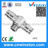 Singolo Male Pneumatic Metal Fittings con CE