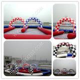 膨脹可能Karts Race Track、Zorbing Ball B6054のためのOutdoor Inflatable Race Trackは行く