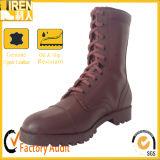 赤茶色の新しい方法高品質の軍の戦術的な戦闘用ブーツ