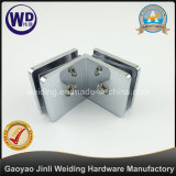 Abrazadera de cristal de gran tamaño de 90 grados vidrio de 90 grados al clip de cristal