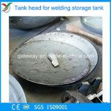 Testa sferica dell'acciaio inossidabile senza flangia diritta