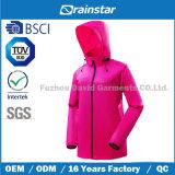 Windbreaker et jupe respirable avec la couleur rose-clair