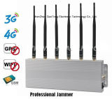 jammer do jammer 6band G/M WiFi GPS 3G 4G do sinal 10W