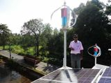 Vento Sistema ibrido solare (vento turbine 300W)
